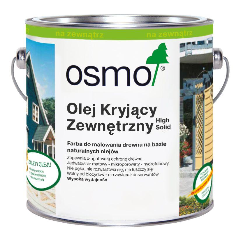 Olej Kryjący Zewnętrzny Osmo - ekologiczna farba do drewna