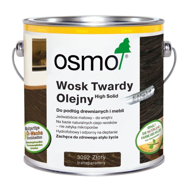 Wosk Twardy Olejny EFFEKT Osmo 3091 3092