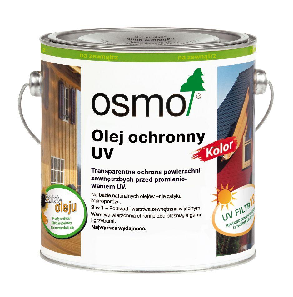 Olej Ochronny UV Kolor Osmo do fasad drewnianych