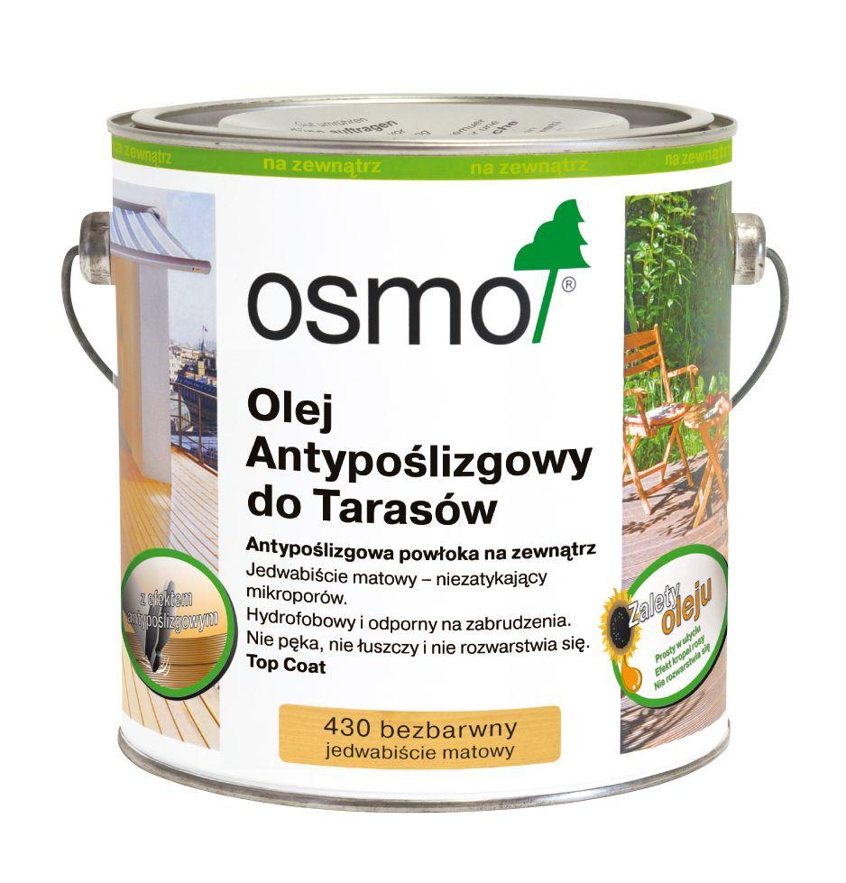 Osmo 430 - Antypoślizgowy olej do tarasów Osmo