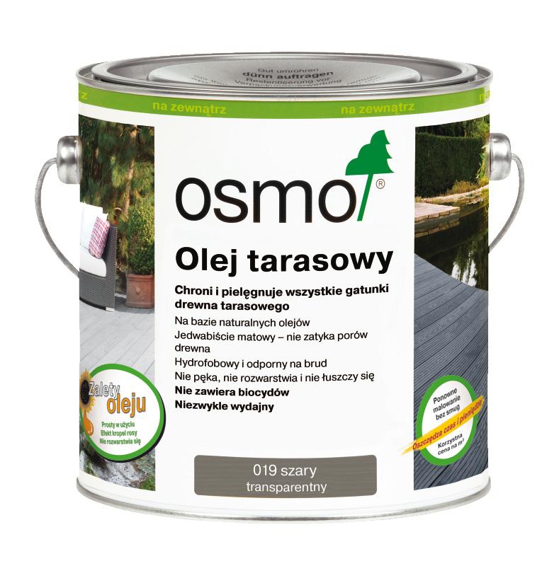 Oleje tarasowe Osmo - specjalne oleje do drewna