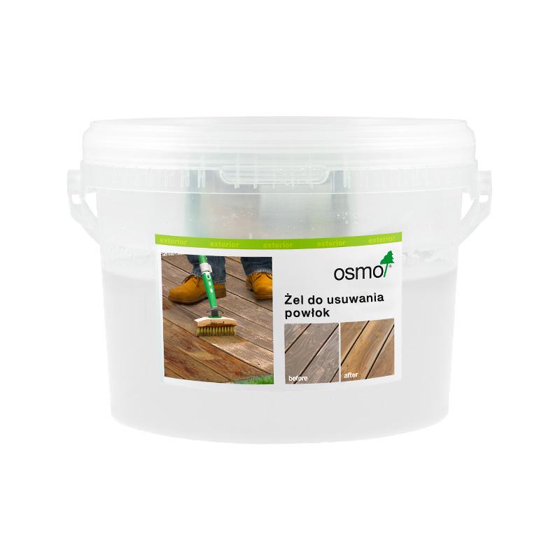 Żel do usuwania olejów tarasowych i innych powłok do drewna